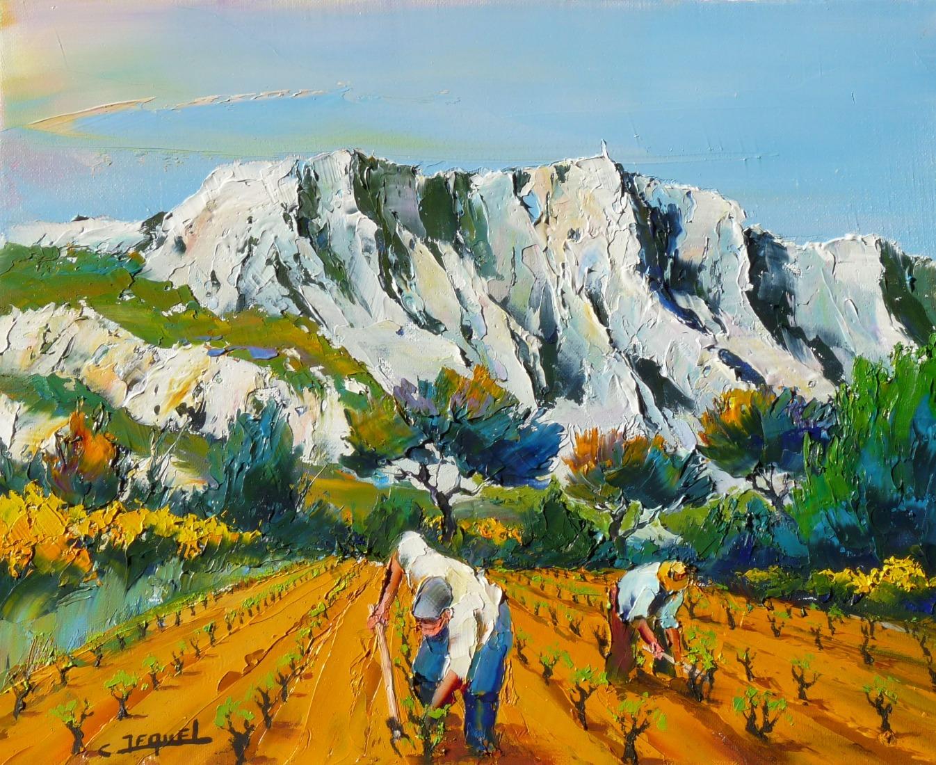 Galerie Tableaux Peintre Proven 231 Al Peintre De La Provence