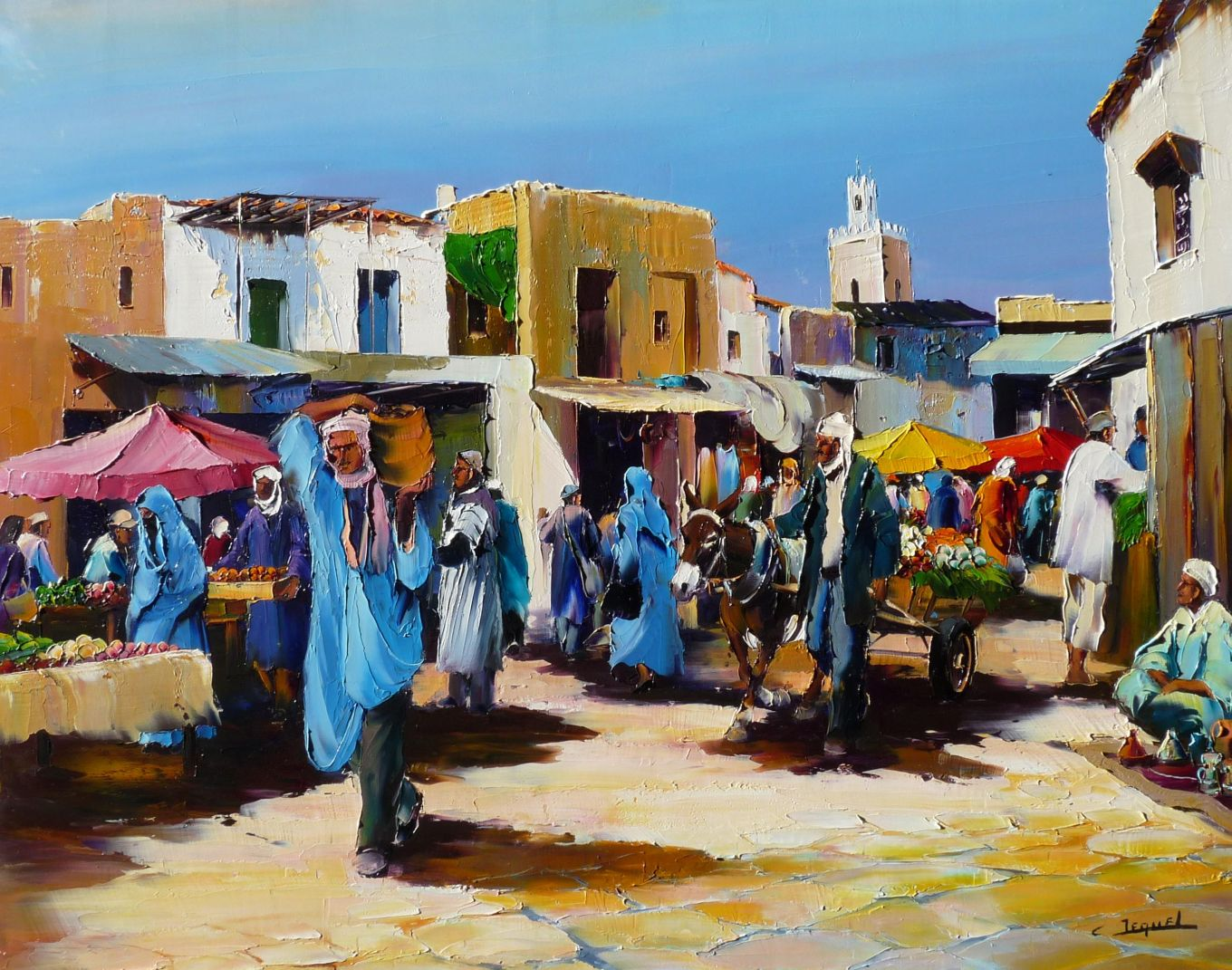 The Taroudant market