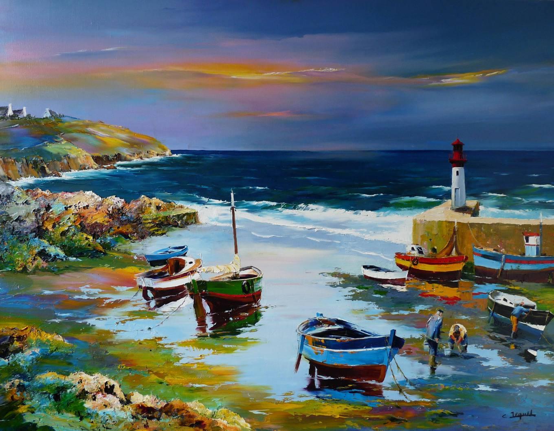 J Martin Oil Paintings